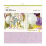 Plotterie.nl – Cricut Glitter Cardstock Sample