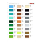 Plotterie.nl – Oracal M631 Kleurenkaart 3
